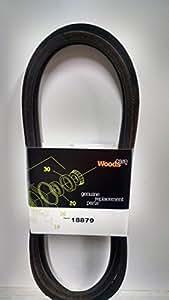 Woods OEM cinturón 18879(fabricado por Woods)
