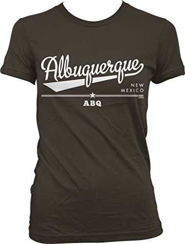 Albuquerque, New Mexico, ABQ Juniors T-shirt, NOFO Clothing Co. XL - Uptown Albuquerque