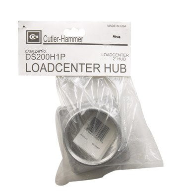 Br & Ch Loadcenter/safety Switch Top Feed Hub (Cutler Hammer Conduit Hub)
