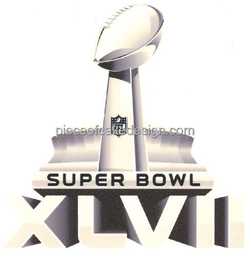 quantumchaos-media-8-round-super-bowl-xlvii-trophy-edible-image-cake-cupcake-topper