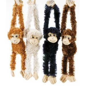 (Plush Hanging Monkeys - Size 16