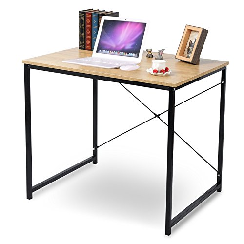 WOLTU Modern & Simple Design Home Office Computer Table With Wood Heavy Duty NoteBook Desk