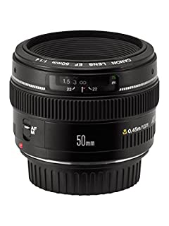 Canon EF 50mm f/1.4 USM Standard & Medium Telephoto Lens for Canon SLR Cameras (B00009XVCZ) | Amazon Products