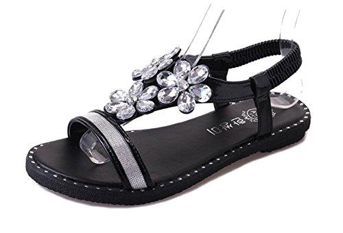 pengweiSandali semplici sandali piani di estate dei sandali i sandali semplici adattano i pattini piani
