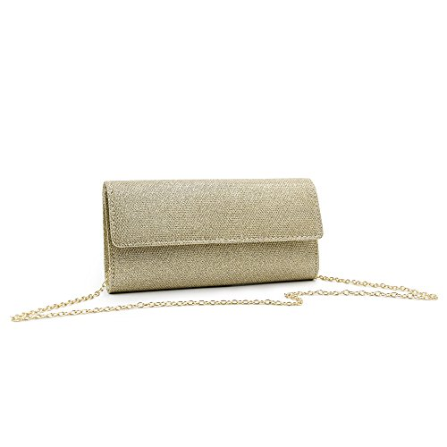 Elegant Shoulder Clutch Women Sequins Chain Or Bags Bag Purse Evening Milisente Clutch qaRwnAxqt