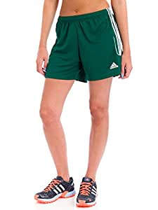 Adidas Women's Squadra 13 Shorts, Collegiate Green/White, XSmall