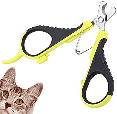 Amazon.com: PJDDP Cortaúñas profesional para gatos ...