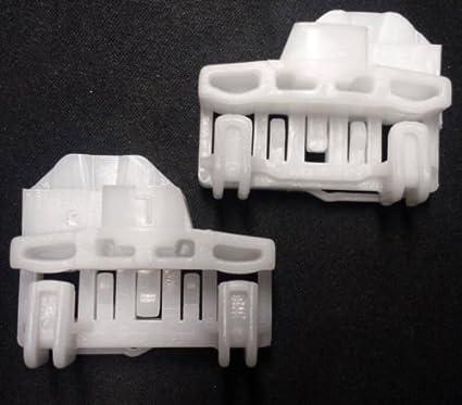 2/grapas de elevalunas izquierdo Audi Skoda Seat Passat, para Volkswagen Polo