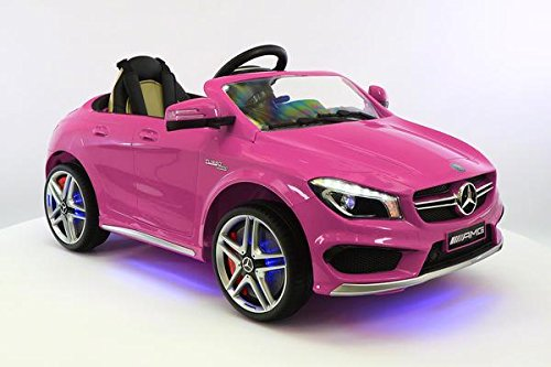 Battery Powered Ride On Toys For Toddlers >> Moderno Kids Licensed Mercedes CLA45 12V Kids Ride-On Car MP3 USB Player Battery Powered RC ...