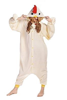 CANASOUR Polar Fleece Adult Halloween Anime Unisex Women's Onesie Pajamas