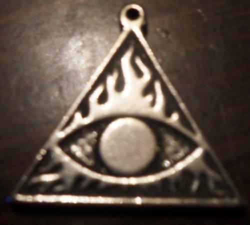 SPELLBINDER evil eye pendant black magic