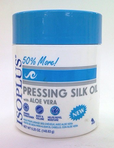 Isoplus Pressing Silk Oil with Aloe Vera 5.25 Oz.