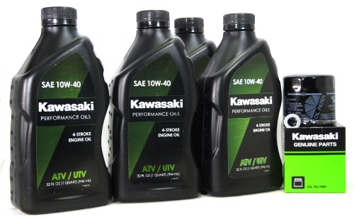 2008 Kawasaki MULE 3010 DIESEL 4X4 Oil Change Kit (Mule 3010 Motor)