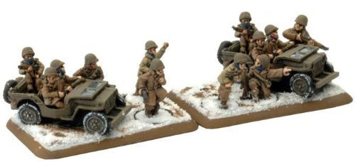 German  Skorzeny Commando Group by Battlefront Miniatures