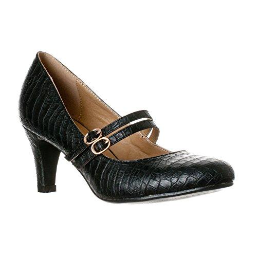 9e5c3edd60f Antonio Melani Shoes  Women s Claire 001 Genuine Leather Pump - Buy ...