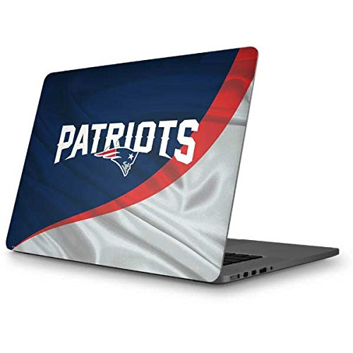 Skinit NFL New England Patriots MacBook Pro 15 (2012-15 Retina Display) Skin - New England Patriots Design - Ultra Thin, Lightweight Vinyl Decal Protection by Skinit