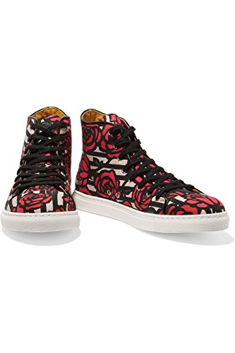 Leather V009445CAN912 Multicolor Hi Sneakers Top Women's Olympia Charlotte qUEwIt1