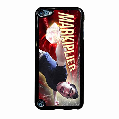 Markiplier Design 4 Case / Color White Plastic / Device iPod Touch 6