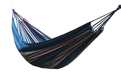 Honesh Outdoor Leisure Double 2 Person Cotton Hammocks 450lbs Ultralight Camping Hammock