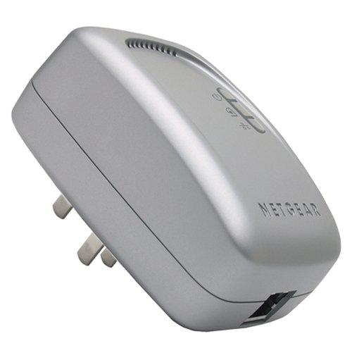 NETGEAR Wall-Plugged Ethernet Bridge XE102 - Bridge - HomePlug 1.0 - (Netgear Xe102 Wall)