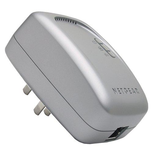 NETGEAR Wall-Plugged Ethernet Bridge XE102 - Bridge - HomePlug 1.0 - desktop - Netgear Xe102 Wall