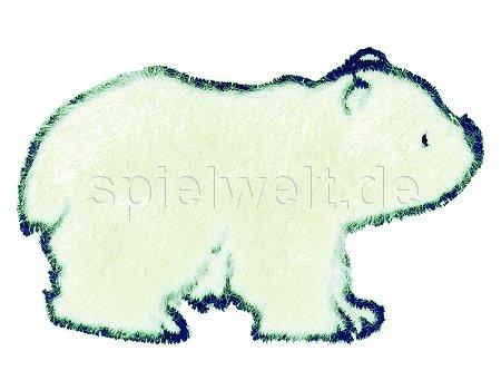 Mono-Quick Bügelsticker - Eisbär Plüsch: Amazon.de: Spielzeug