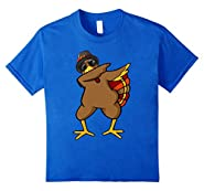 Funny Dabbing Turkey Thanksgiving T Shirt Outfit Clothes