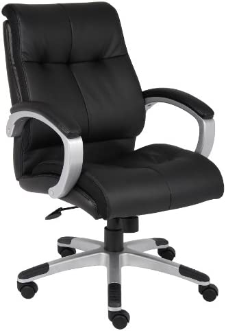 Boss Office Products Double Plush Mid Back Executive Chair