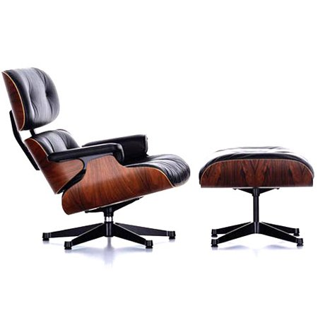 Eames Lounge Chair & Ottoman Eames Chair Reproduction in