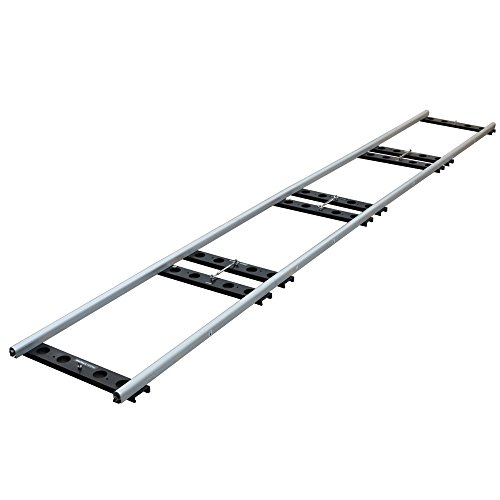 Proaim Stream 16ft Heavy-duty Cinema Track + Flight Case For Camera Dolly & Jib/Crane up to 1Ton/2200lb | CNC Aluminum Portable Collapsible Track for Film Movie YouTube Video Production (TK-STRS-00) by PROAIM