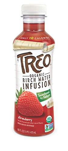Treo - Strawberry, Big Fruit Flavor, Low Sugar, Low Calor...