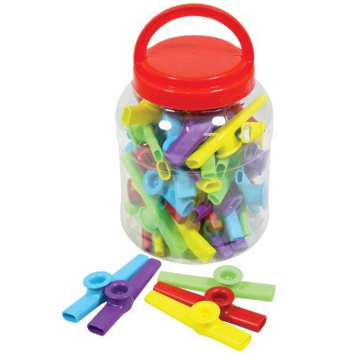 Percussion Workshop KZC01-30TUB Colorful Plastic Kazoos, Tub of ()
