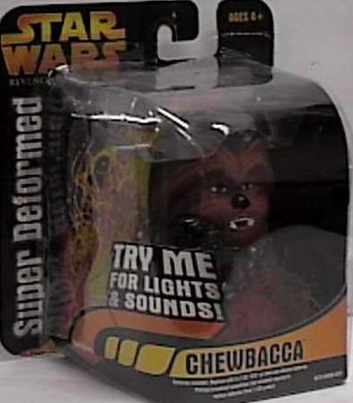 Star Wars Revenge of the Sith Super Deformed Chewbacca Figure