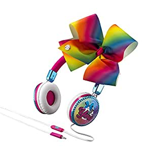 JoJo Siwa Bow Fashion Headphones with Microphone (Frustration Free Packaging)