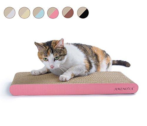 AMZNOVA Cat Scratching Pad, Durable Cardboard Cat