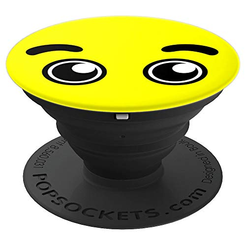 Halloween Emojis Emoticon Happy Eyes - PopSockets Grip and Stand for Phones and -