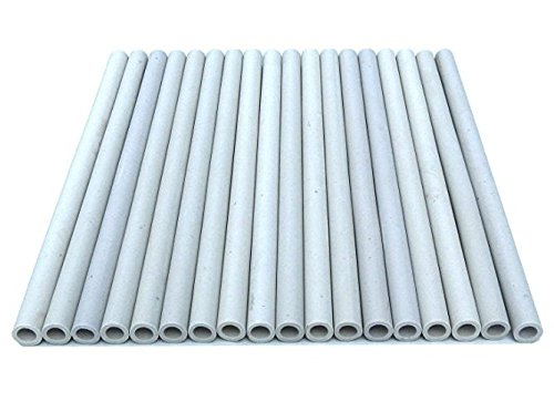 Zljiont Replacement Gas Grill Ceramic Radiants, BBQ Grill Ceramic Rods for DCS Heat Plates, for DCS Grill 245398, DCSCT, 9.5