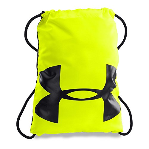 Under Armour Ozsee Sackpack, High-Vis Yellow/Black, One Size