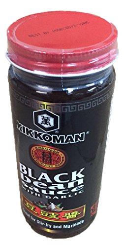 - Kikkoman Black Bean Sauce with Garlic 8.7 oz