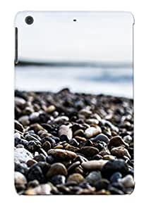 DOoPmho5266emdqZ New Ipad Mini/mini 2 Case Cover Casing(pebbles On The Beach)/ Appearance