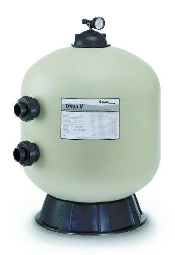 Pentair Triton II Side Mount Filter TR60 Fiberglass Sand Filter without Valve by Pentair