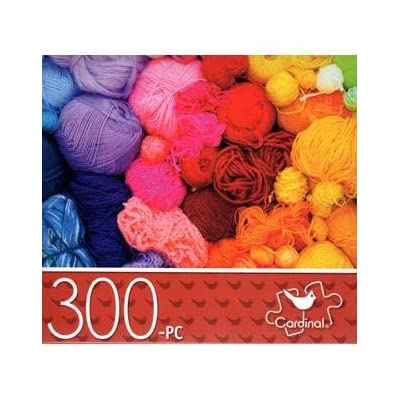 Rainbow Yarns - 300 Piece Jigsaw Puzzle: Toys & Games