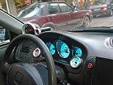 1996-2000 Honda Civic DX White Face Glow Gauges