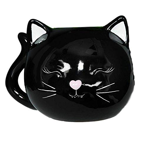 ceramic Black White CAT Money Bank/Piggy Bank …