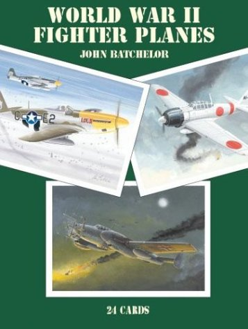 World War II Fighter Planes: 24 Cards (Card Books) (Best World War 2 Fighter Plane)