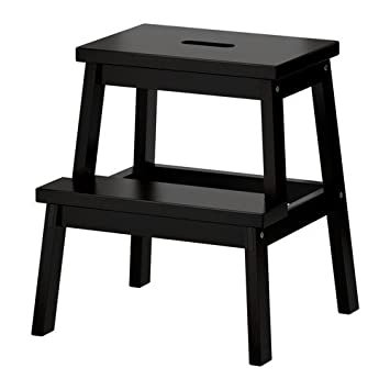 IKEA BEKVAM Wooden Utility Step stool in Black  sc 1 st  Amazon UK & IKEA BEKVAM Wooden Utility Step stool in Black: Amazon.co.uk ... islam-shia.org