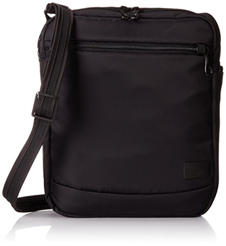 - Pacsafe Citysafe CS150 Anti-Theft Cross-Body Shoulder Bag, Black