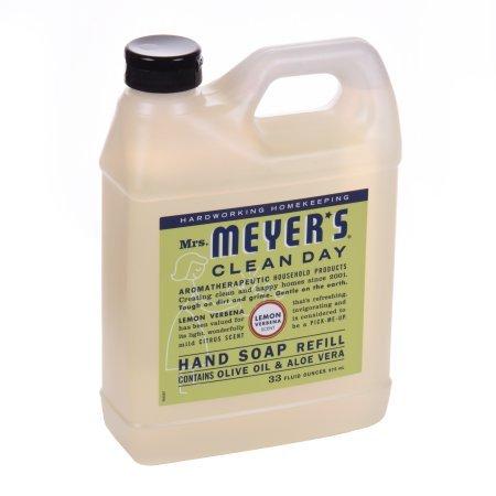 Mrs. Meyers Clean Day, Liquid Hand Soap Refill, Lemon Verben