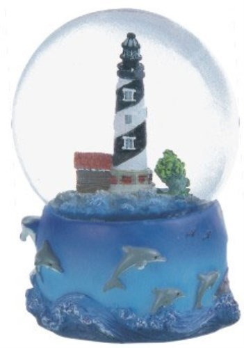 - Snow Globe Cape Hatteras Lighthouse Desk Figurine Decoration by GSC