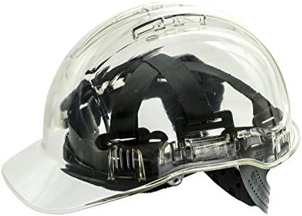 Casco Workwear World WW336, duro, de trabajo, translúcido, con ...
